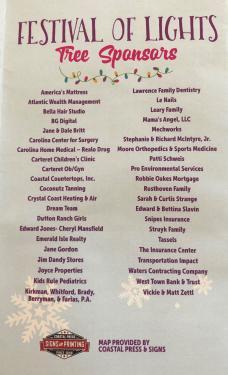 Festival of Lights Sponsors